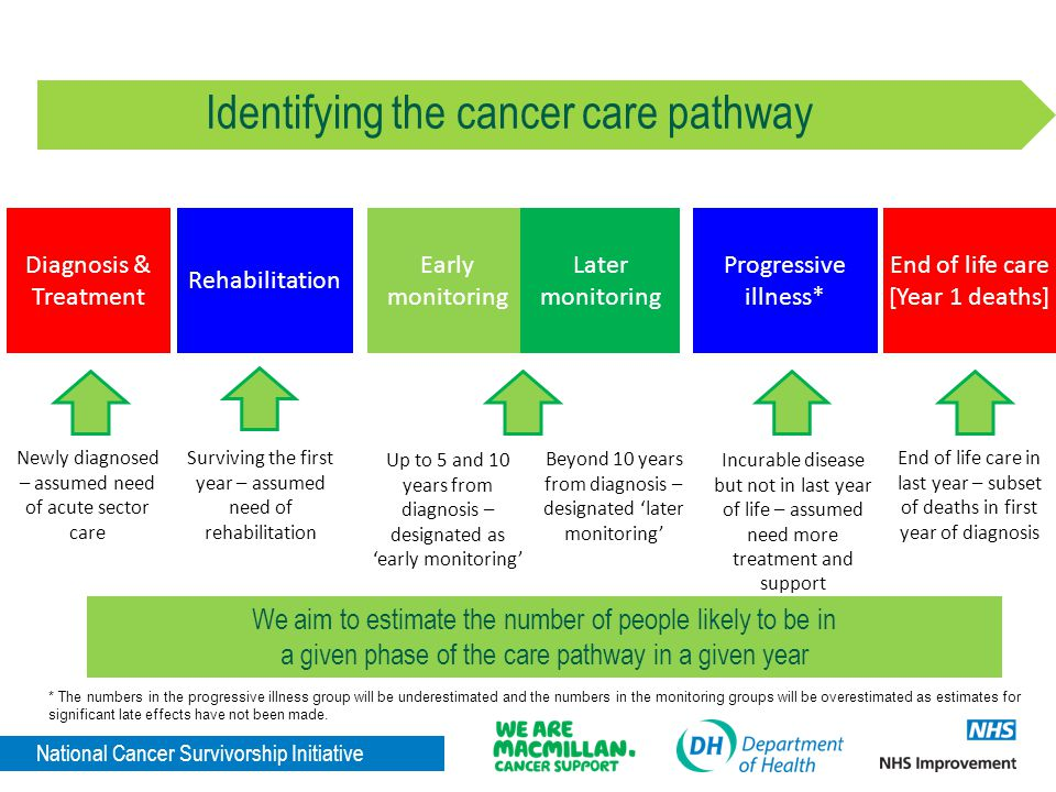 Identifying the cancer care pathway