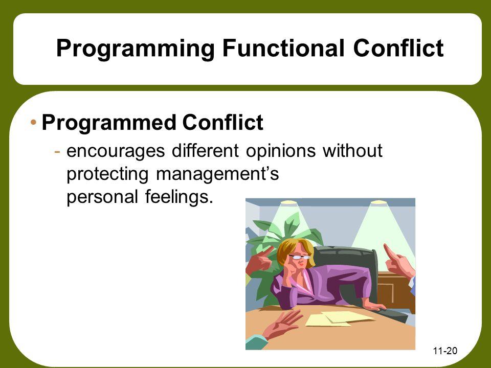 Programming Functional Conflict
