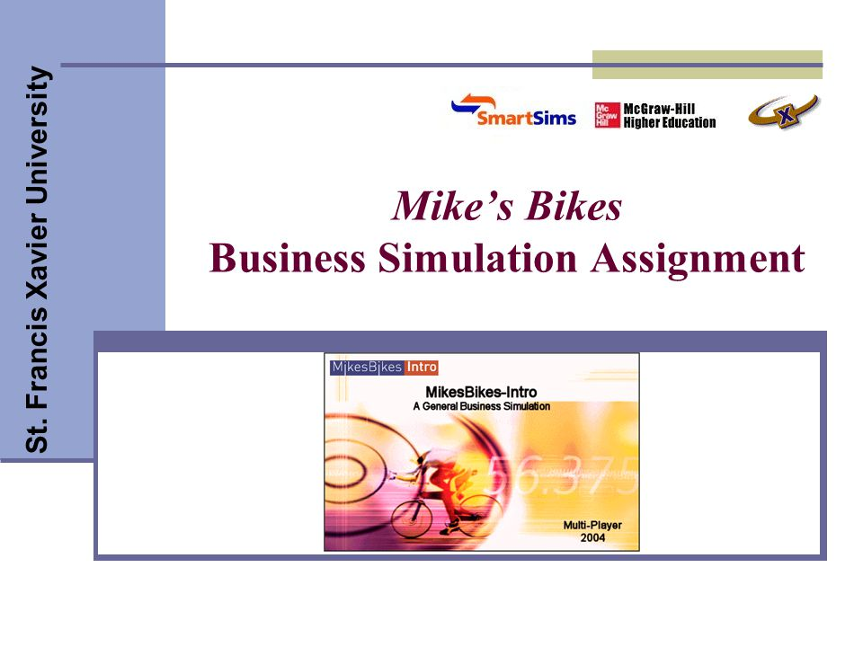 Mike's Bikes Business Simulation Assignment