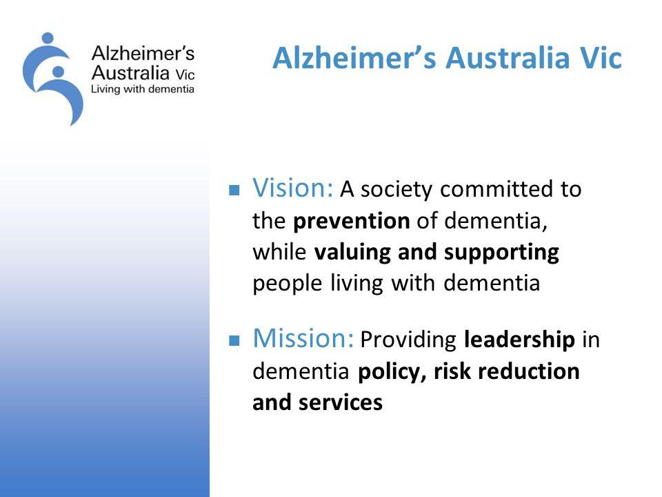 Alzheimer's Australia Vic