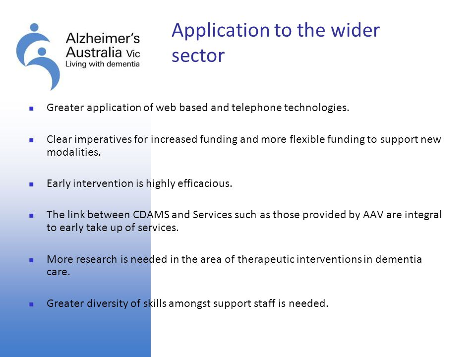 Application to the wider sector