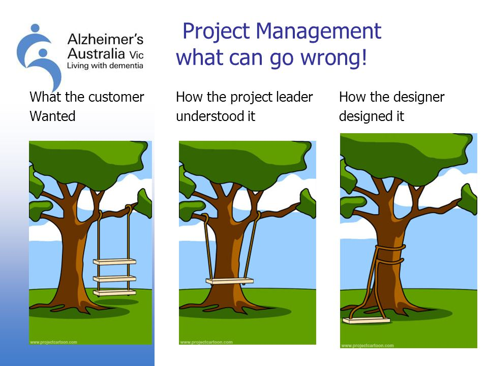 Project Management what can go wrong!