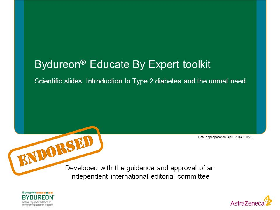 Bydureon® Educate By Expert toolkit