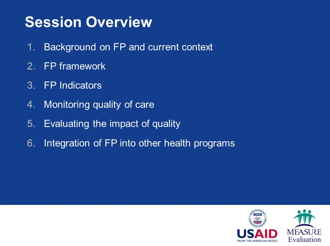 Session Overview Background on FP and current context FP framework