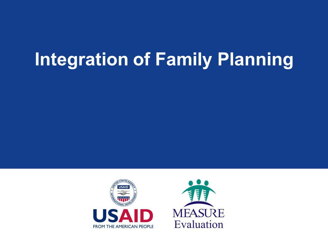 Integration of Family Planning