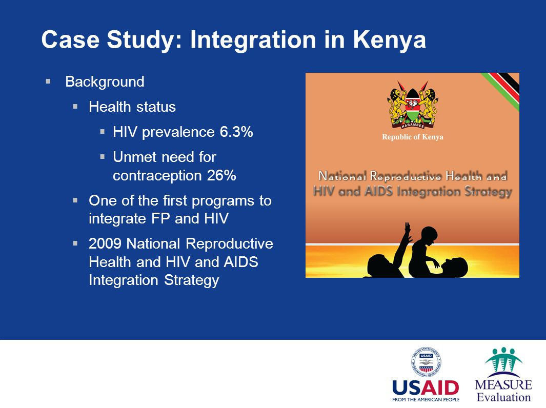Case Study: Integration in Kenya