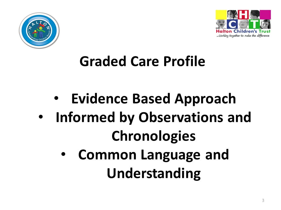 Evidence Based Approach Informed by Observations and Chronologies