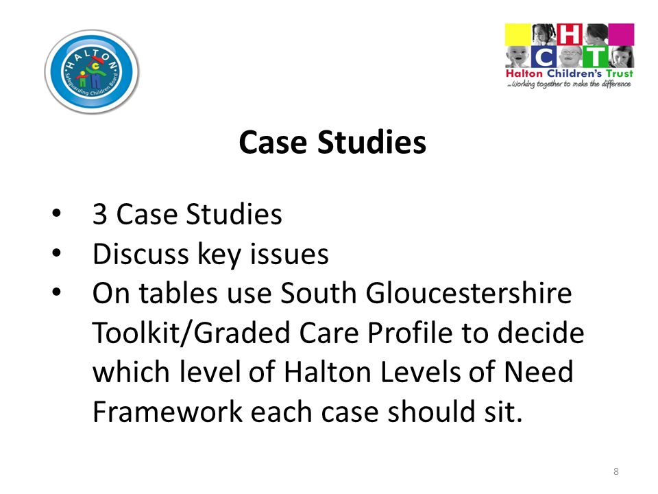 Case Studies 3 Case Studies Discuss key issues
