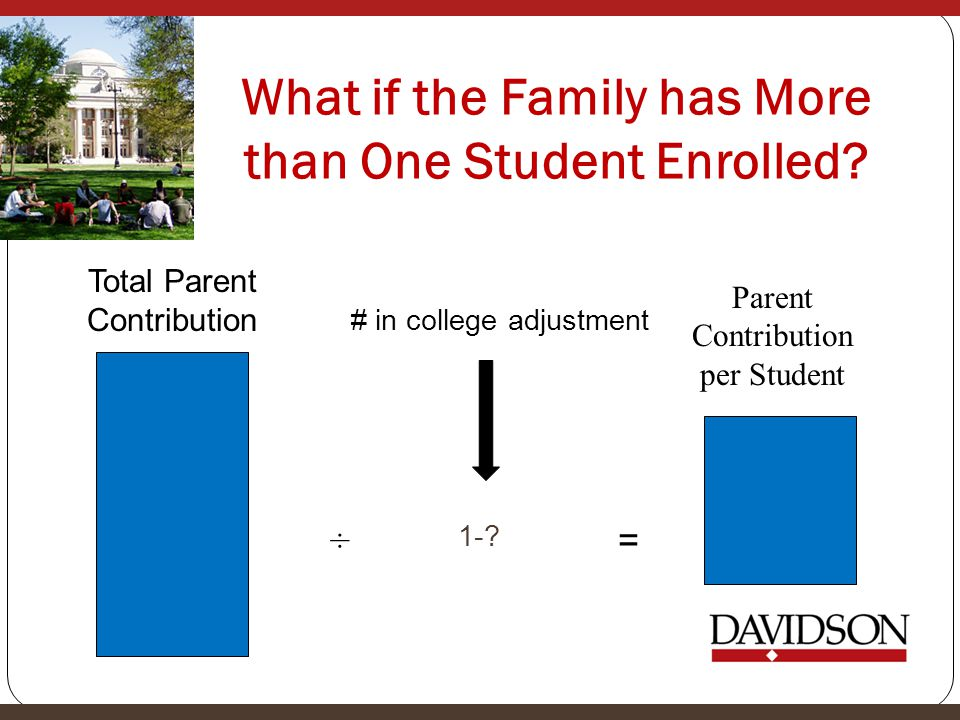 What if the Family has More than One Student Enrolled