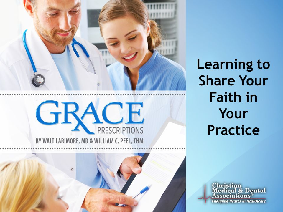 Learning to Share Your Faith in Your Practice
