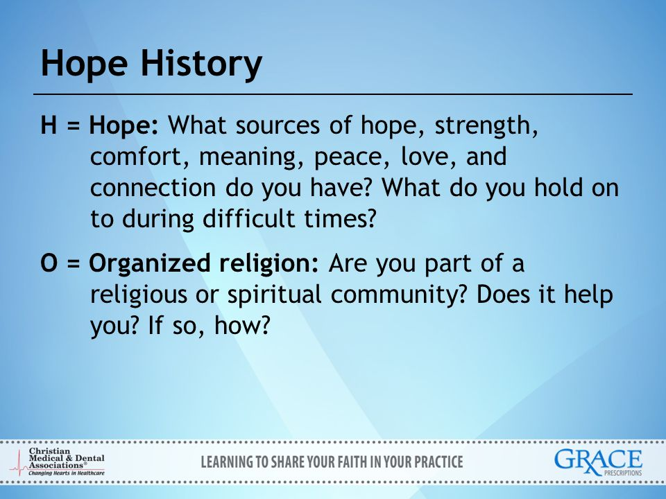 Hope History