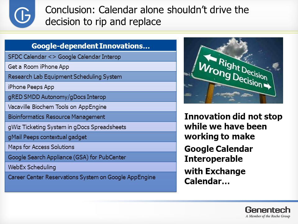 Google-dependent Innovations…
