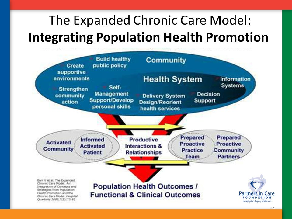 The Expanded Chronic Care Model: Integrating Population Health Promotion