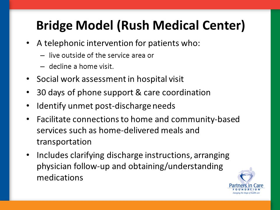 Bridge Model (Rush Medical Center)