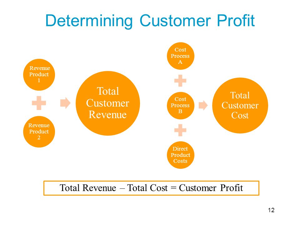 Determining Customer Profit