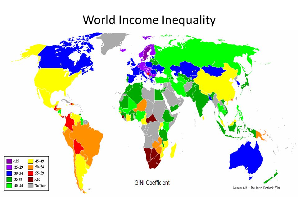 World Income Inequality