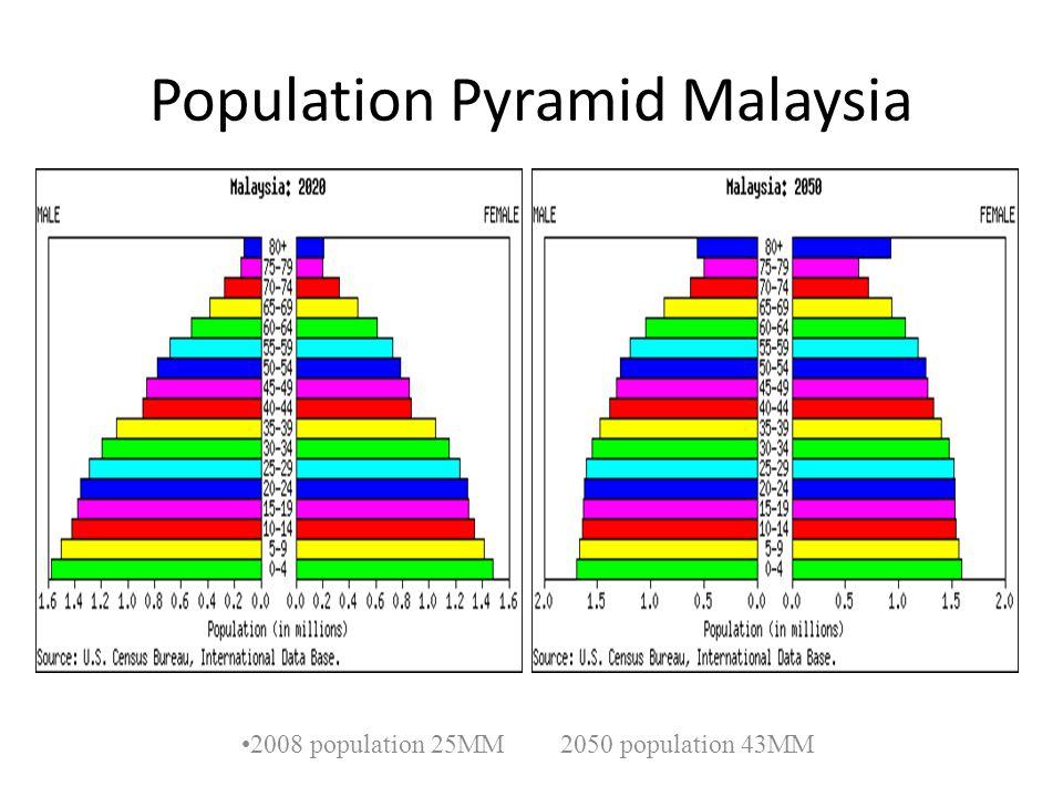 Population Pyramid Malaysia