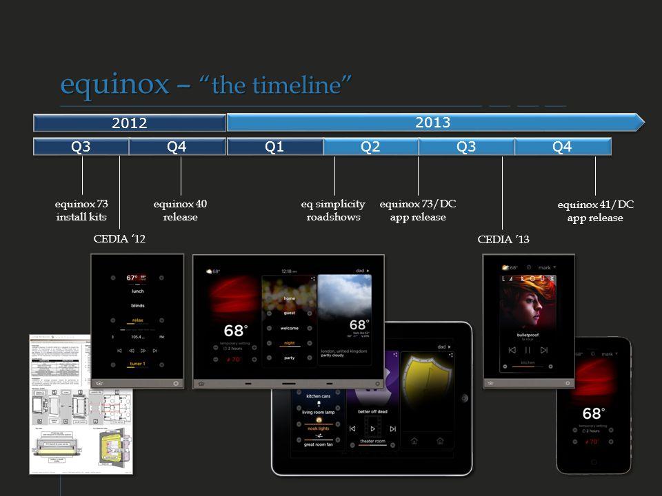 equinox 73/DC app release