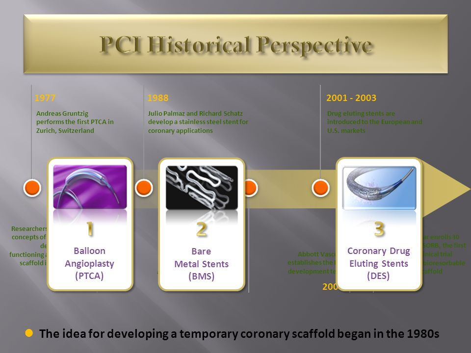 PCI Historical Perspective