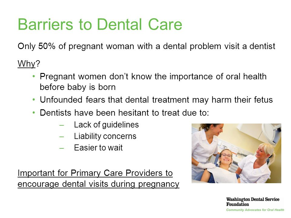Barriers to Dental Care