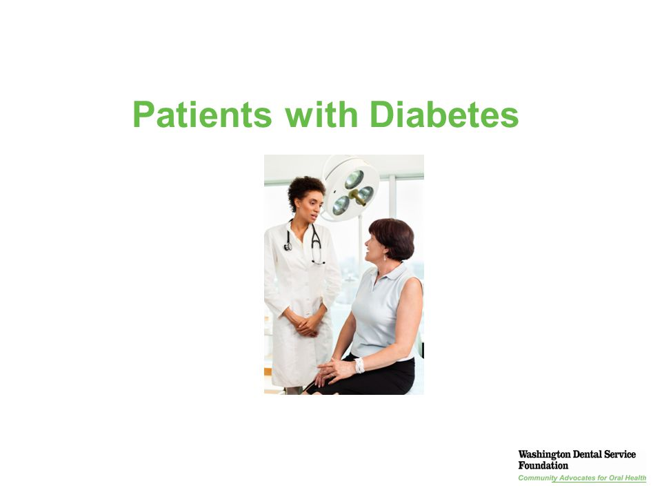 Patients with Diabetes