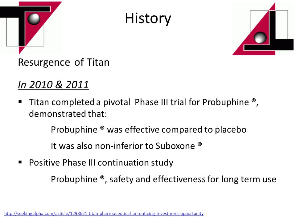 History Resurgence of Titan In 2010 & 2011