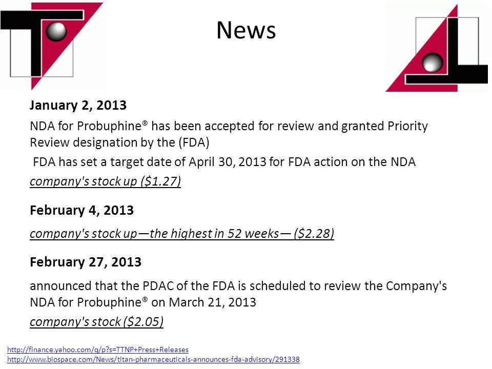 News January 2, 2013 February 4, 2013 February 27, 2013