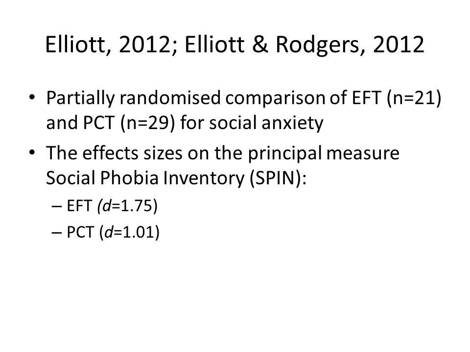 Elliott, 2012; Elliott & Rodgers, 2012