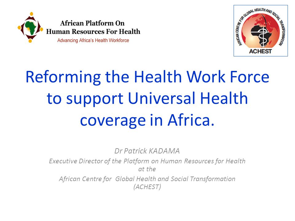African Centre for Global Health and Social Transformation (ACHEST)