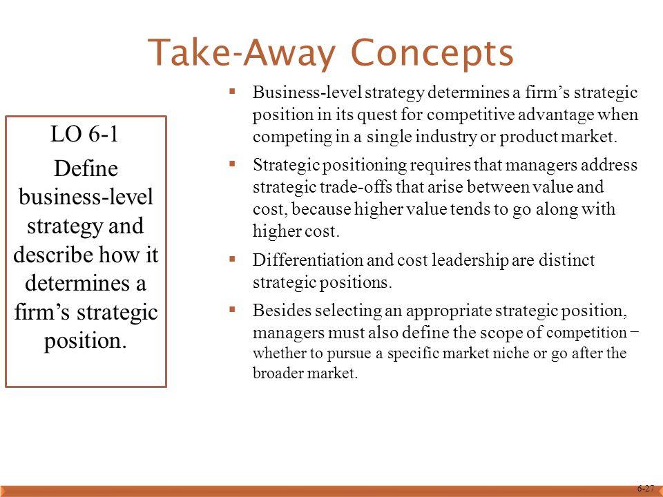 Take-Away Concepts LO 6-1