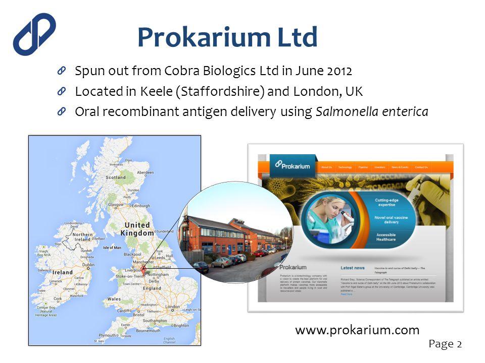 Prokarium Ltd www.prokarium.com