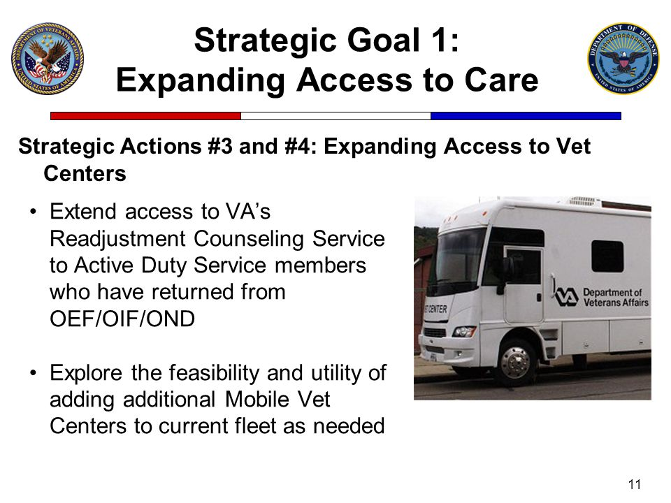 Strategic Goal 1: Expanding Access to Care