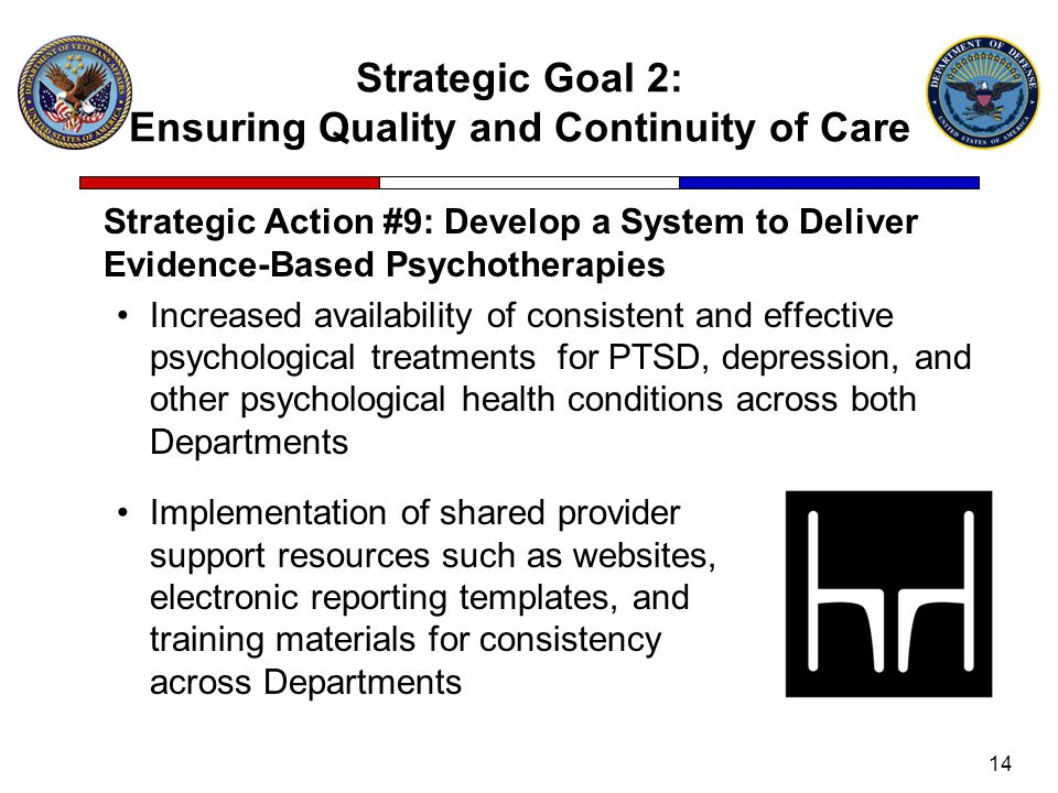 Strategic Goal 2: Ensuring Quality and Continuity of Care