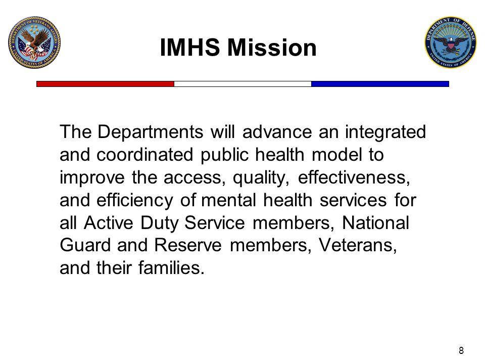 IMHS Mission