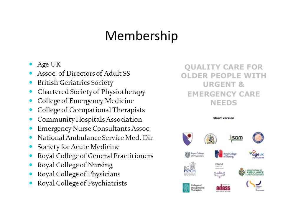 Membership Age UK Assoc. of Directors of Adult SS