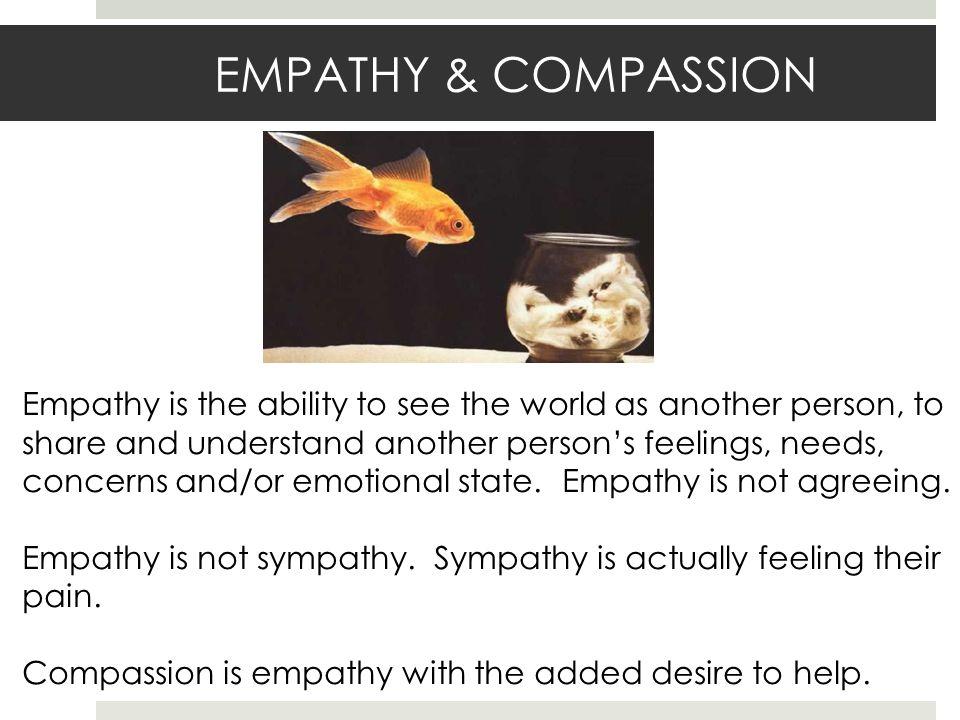 EMPATHY & COMPASSION