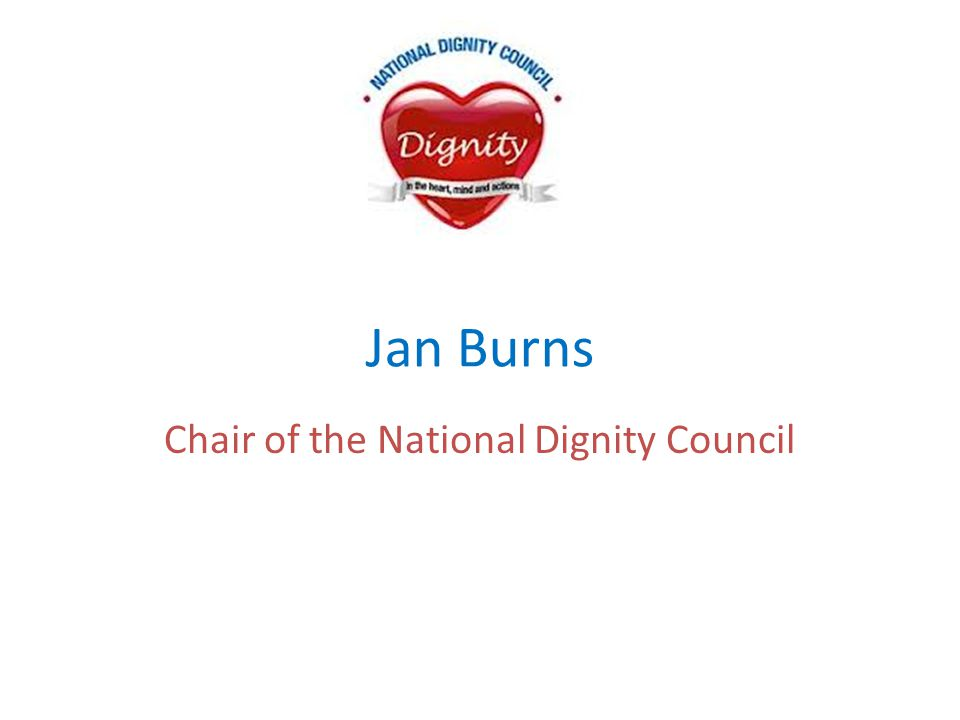 Chair of the National Dignity Council