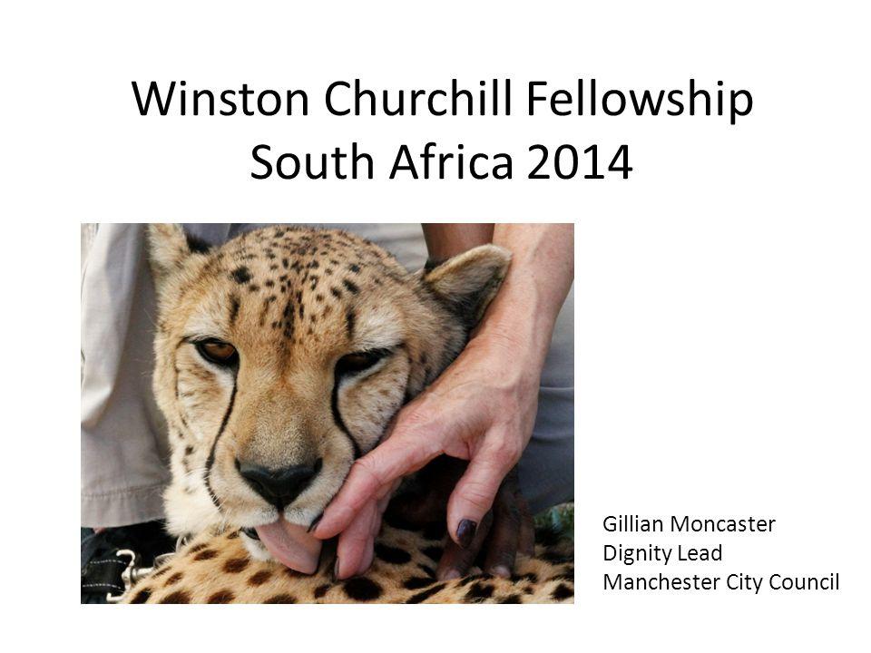 Winston Churchill Fellowship South Africa 2014