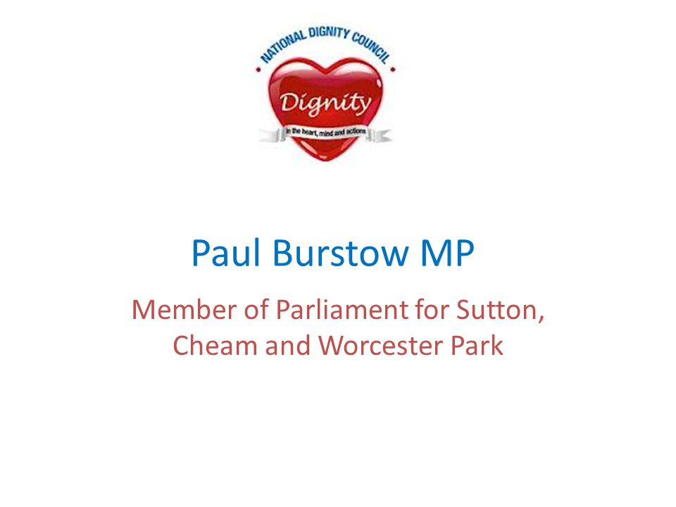 Member of Parliament for Sutton, Cheam and Worcester Park