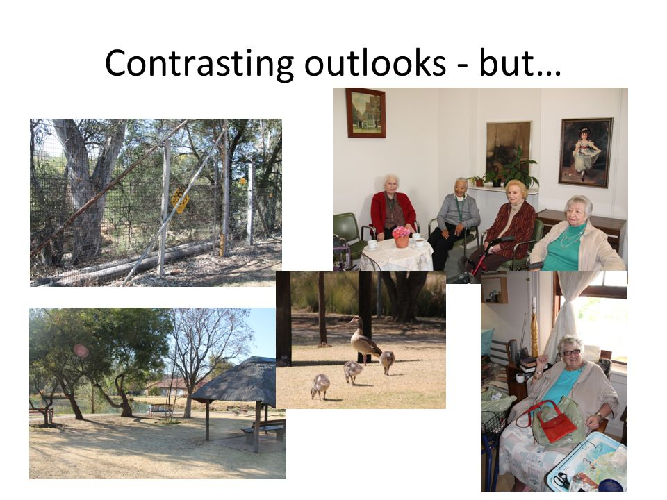 Contrasting outlooks - but…