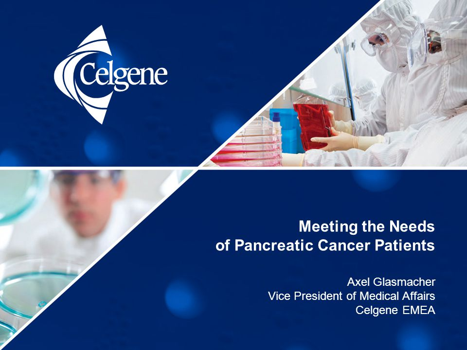Meeting the Needs of Pancreatic Cancer Patients