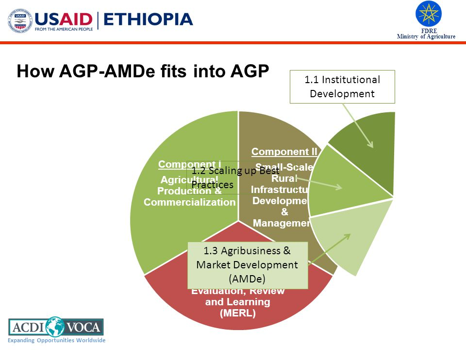 How AGP-AMDe fits into AGP