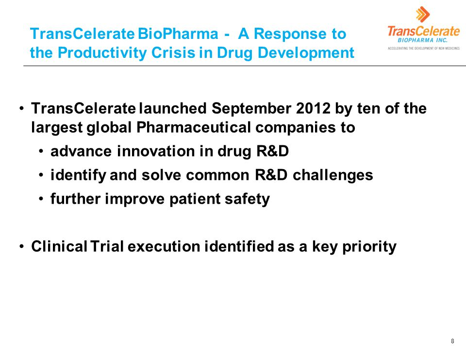 advance innovation in drug R&D