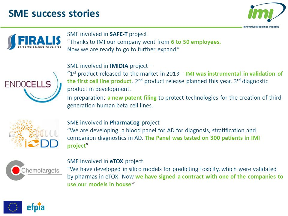 SME success stories SME involved in SAFE-T project