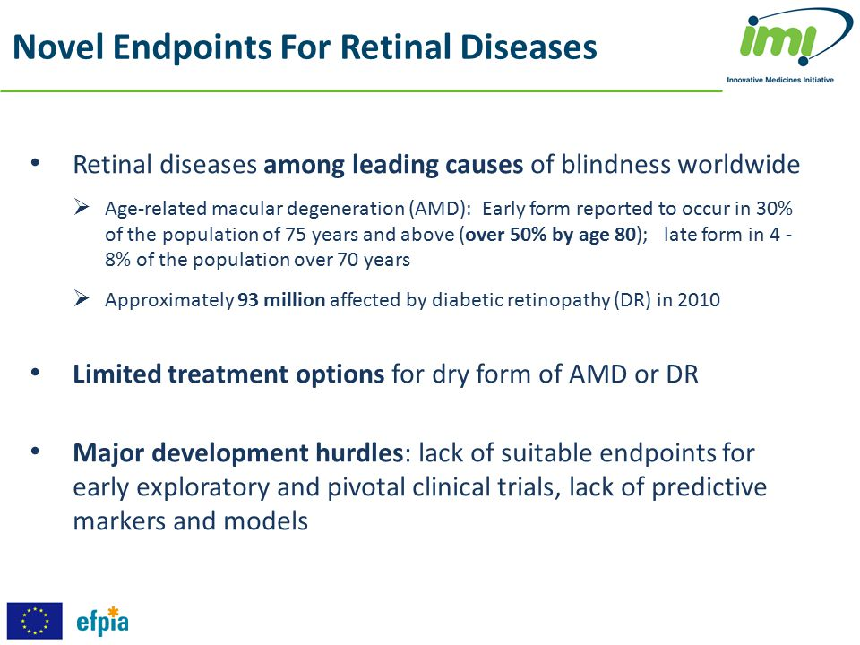 Novel Endpoints For Retinal Diseases