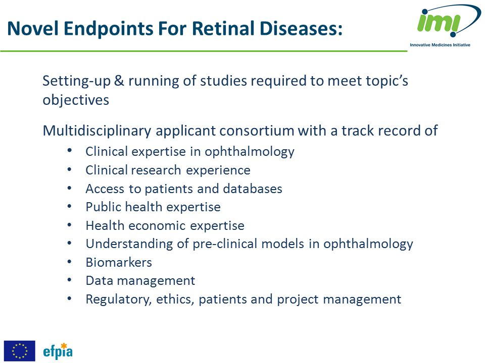 Novel Endpoints For Retinal Diseases: