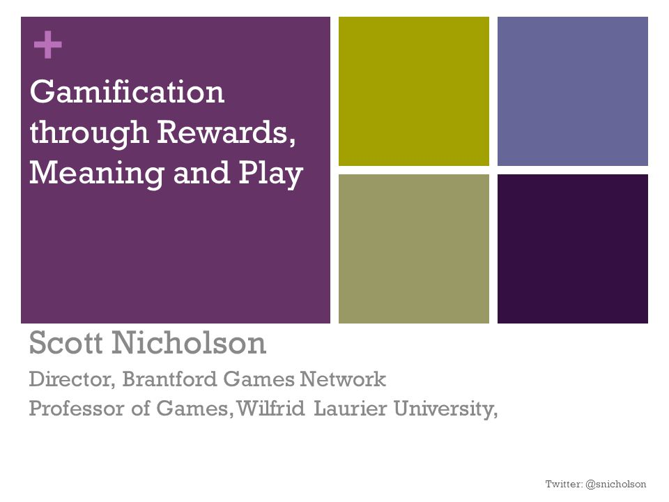 Gamification through Rewards, Meaning and Play