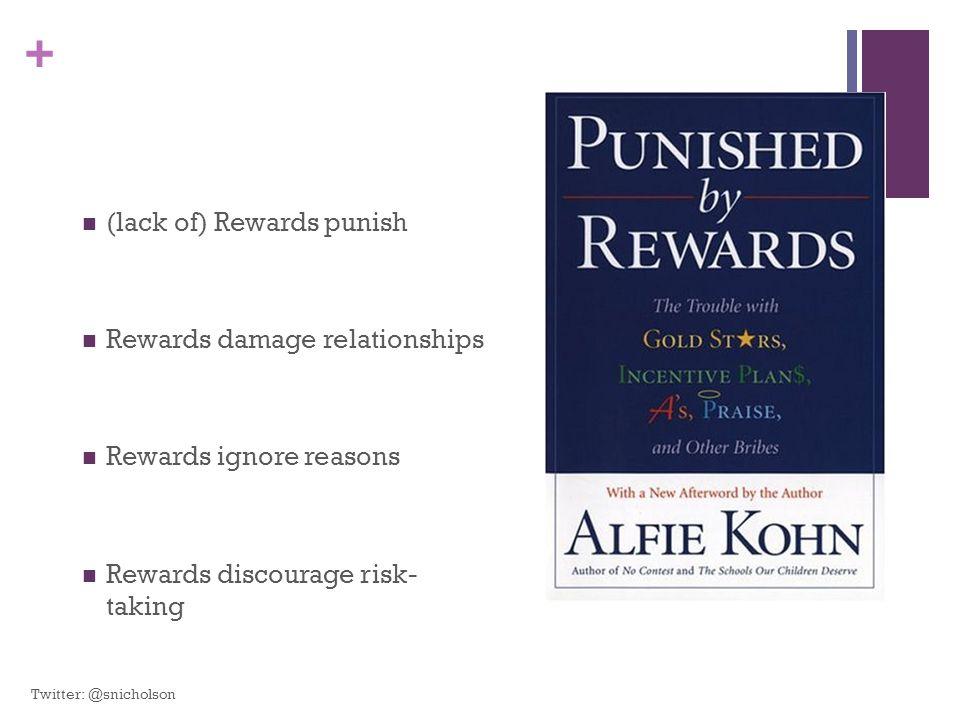 (lack of) Rewards punish