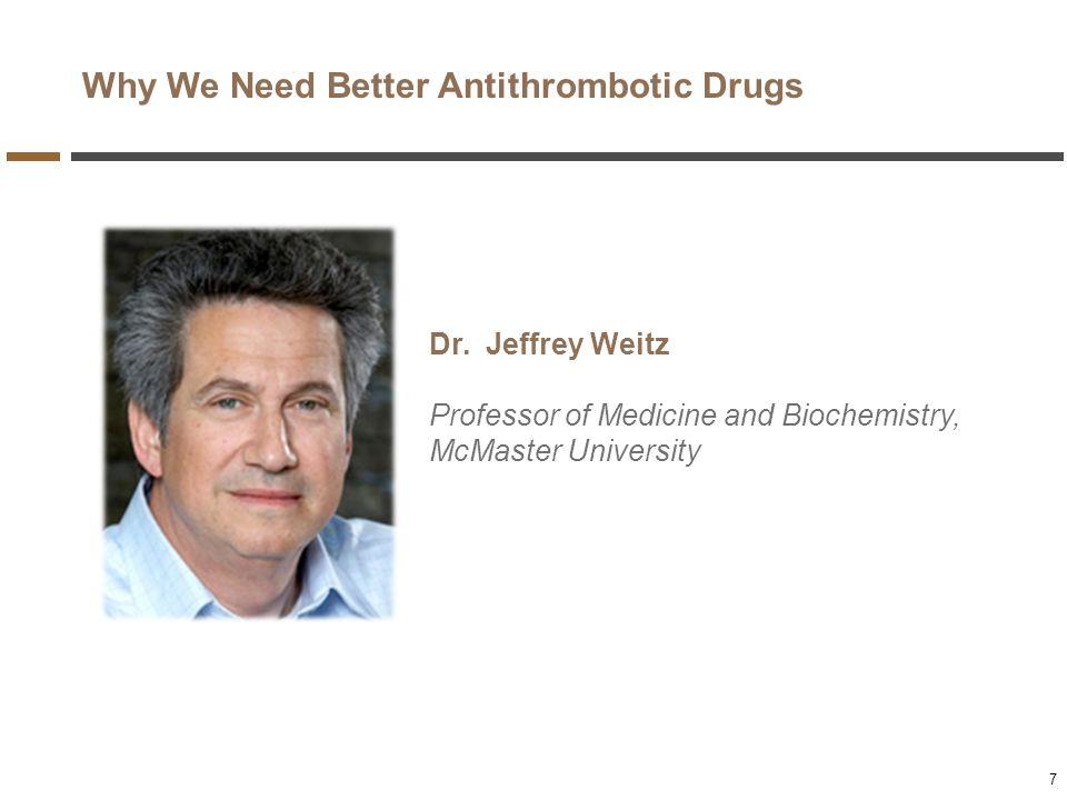 Why We Need Better Antithrombotic Drugs
