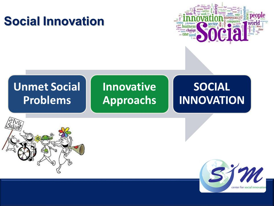 Social Innovation Unmet Social Problems Innovative Approachs SOCIAL INNOVATION